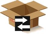 Fordított irányú csomagfeladás